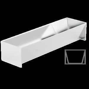 Pastetenform Trapez-Form breit 1.8l