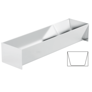 Pastetenform Trapez-Form breit 1.10l