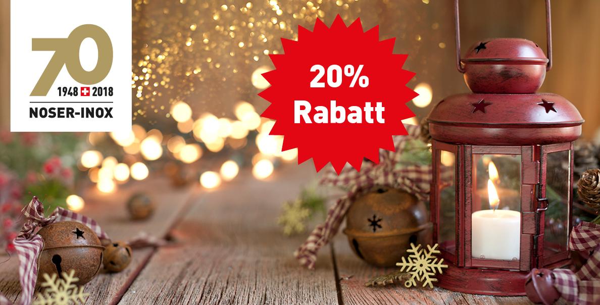 Weihnachten - 20% Rabatt